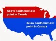 Canada-U.S. Latitude Graphic Challenges Our Assumptions About Geography