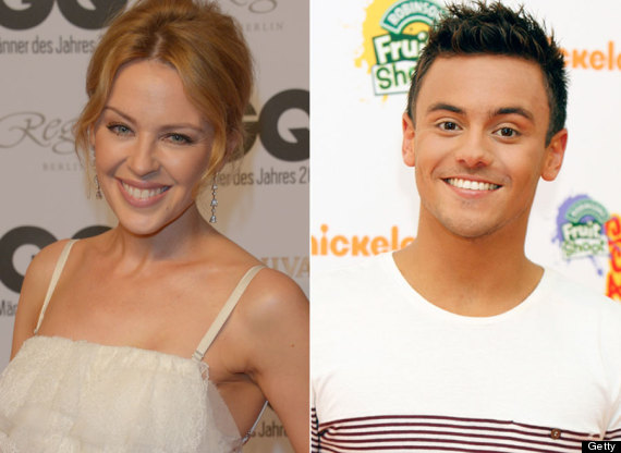 kylie minogue tom daley