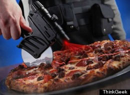 Don't We All Need A Laser-Guided Pizza Cutter?