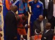 Carmelo Anthony, Iman Shumpert Argue On Sideline As Knicks Lose 9th Game In A Row (VIDEO)