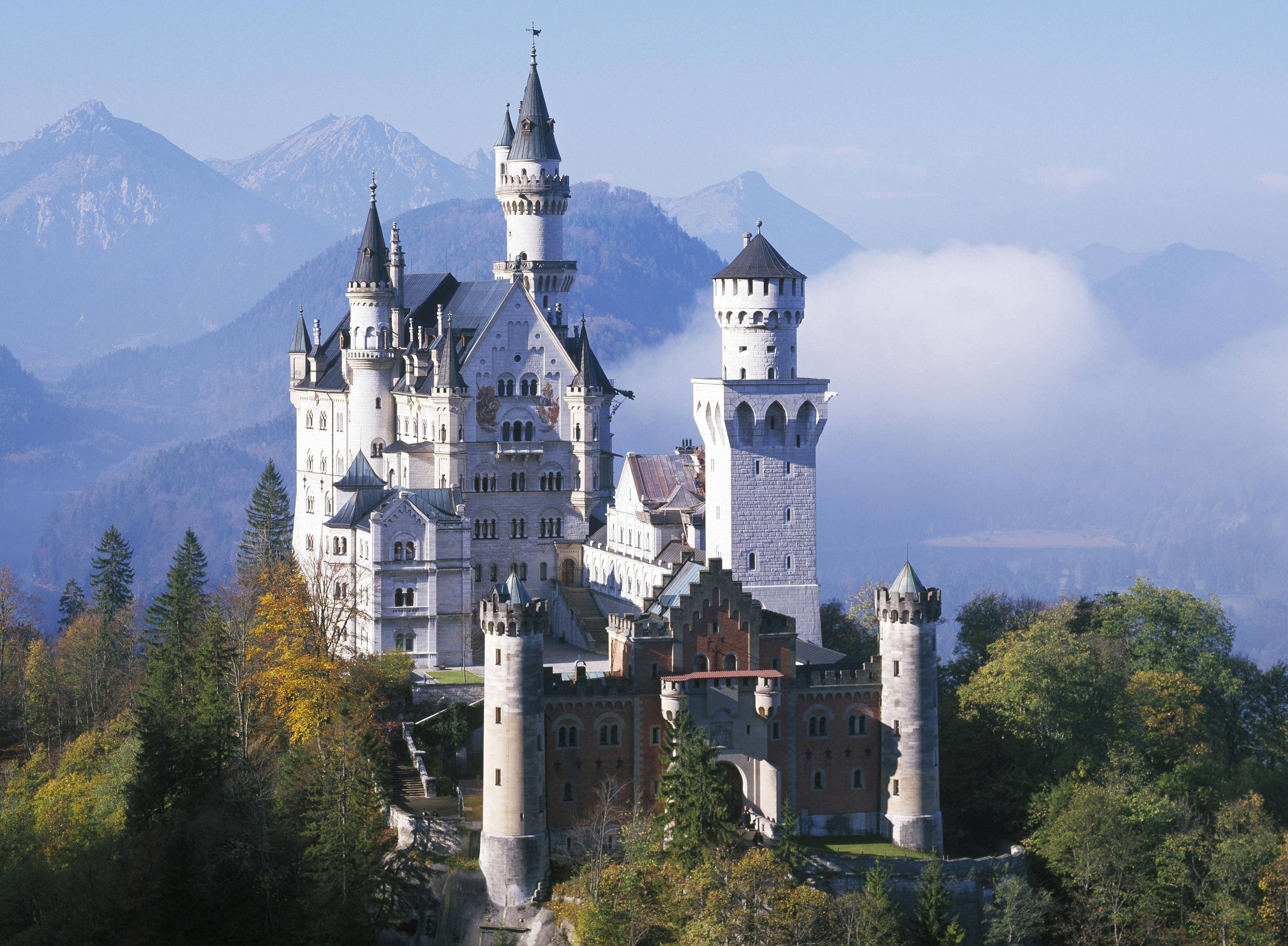 Bavaria's Neuschwanste...