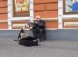 Stray Dog Accompanies Ukrainian Street Performer In Impossibly Adorable Duet (VIDEO)