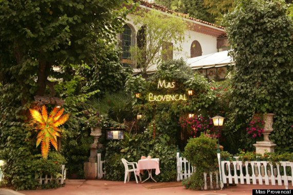Mas Provencal French Restaurant In Eze Village Is A