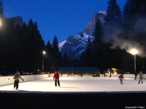 curry village ice rink