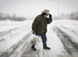 Alberta Blizzard: Calgary And Edmonton Awake To Heavy Snowstorm Monday