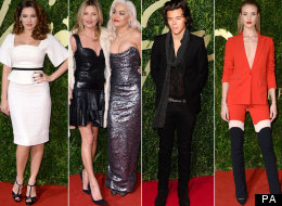 PICS: British Fashion Awards Red Carpet