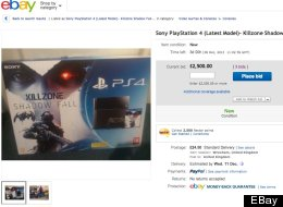 You Won't Believe How Much People Are Paying For PS4s On eBay