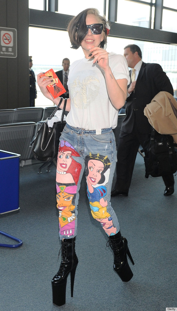 lady gaga disney pants
