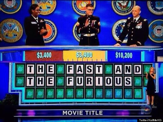 wheel of fortune fast and furious