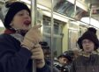 'A Christmas Story' In Real Life Recreates The Triple-Dog Dare Scene On New York Subway