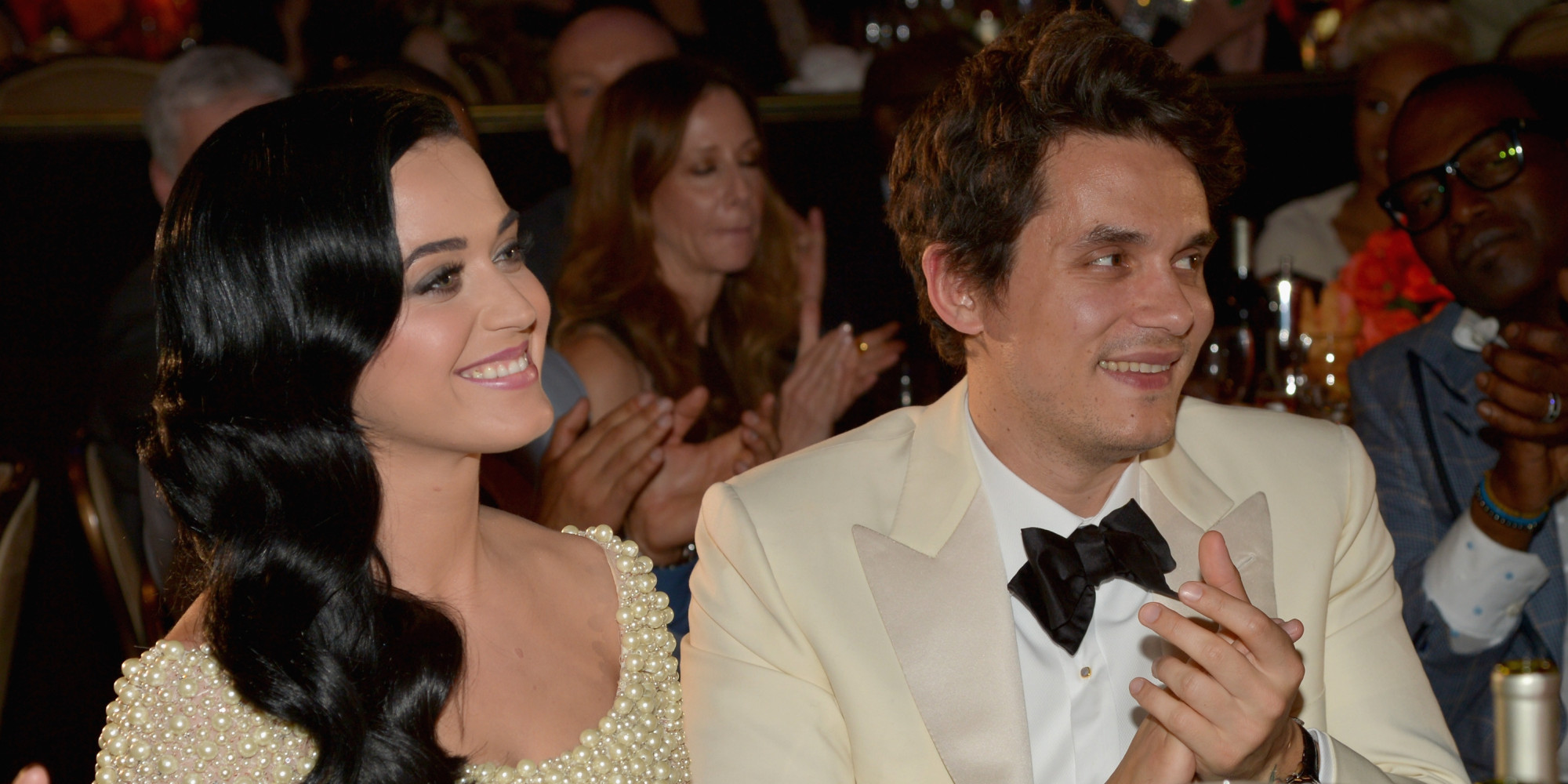 john mayer and katy perry take their first portraits for