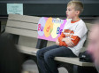 2nd-Grader's Cure For Playground Loneliness: A Buddy Bench