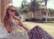 Paris Hilton Breaks Out Her Bikini In Dubai