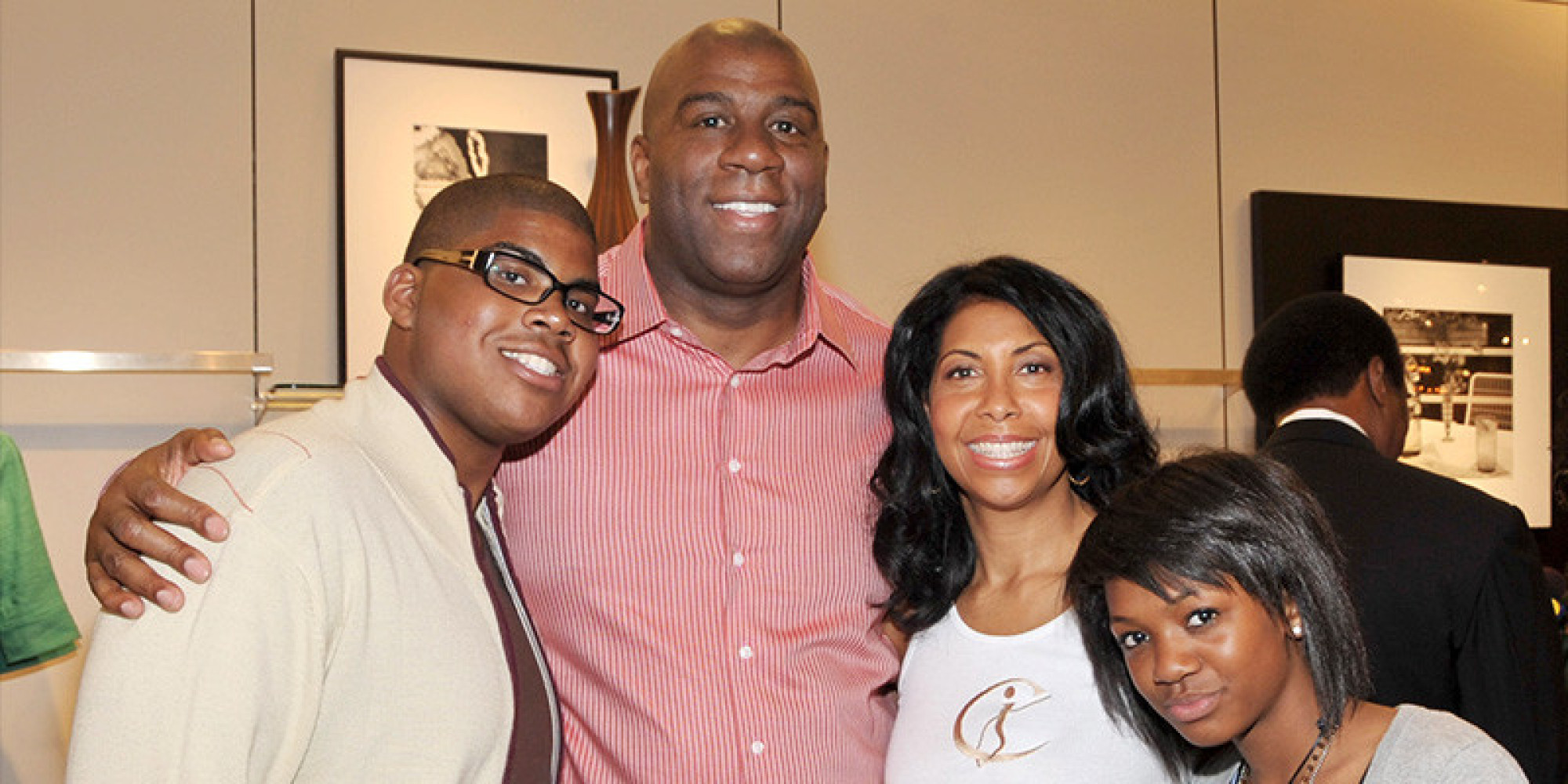 Magic Johnson On Gay Son Ej: 'i Was Just Waiting On Him To Tell Me' (video)   Huffpost
