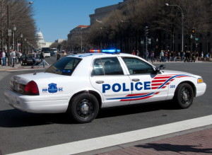Washington Dc Police Car