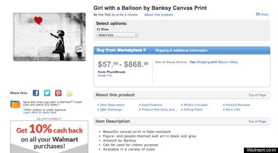 banksy baloon