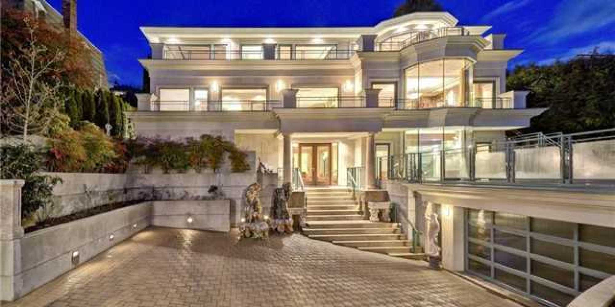 Most Expensive House In Vancouver December 2013 PHOTOS
