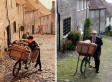 Ridley Scott's Hovis Bicycle Boy Returns To The Scene 40 Years Later (PICTURES)