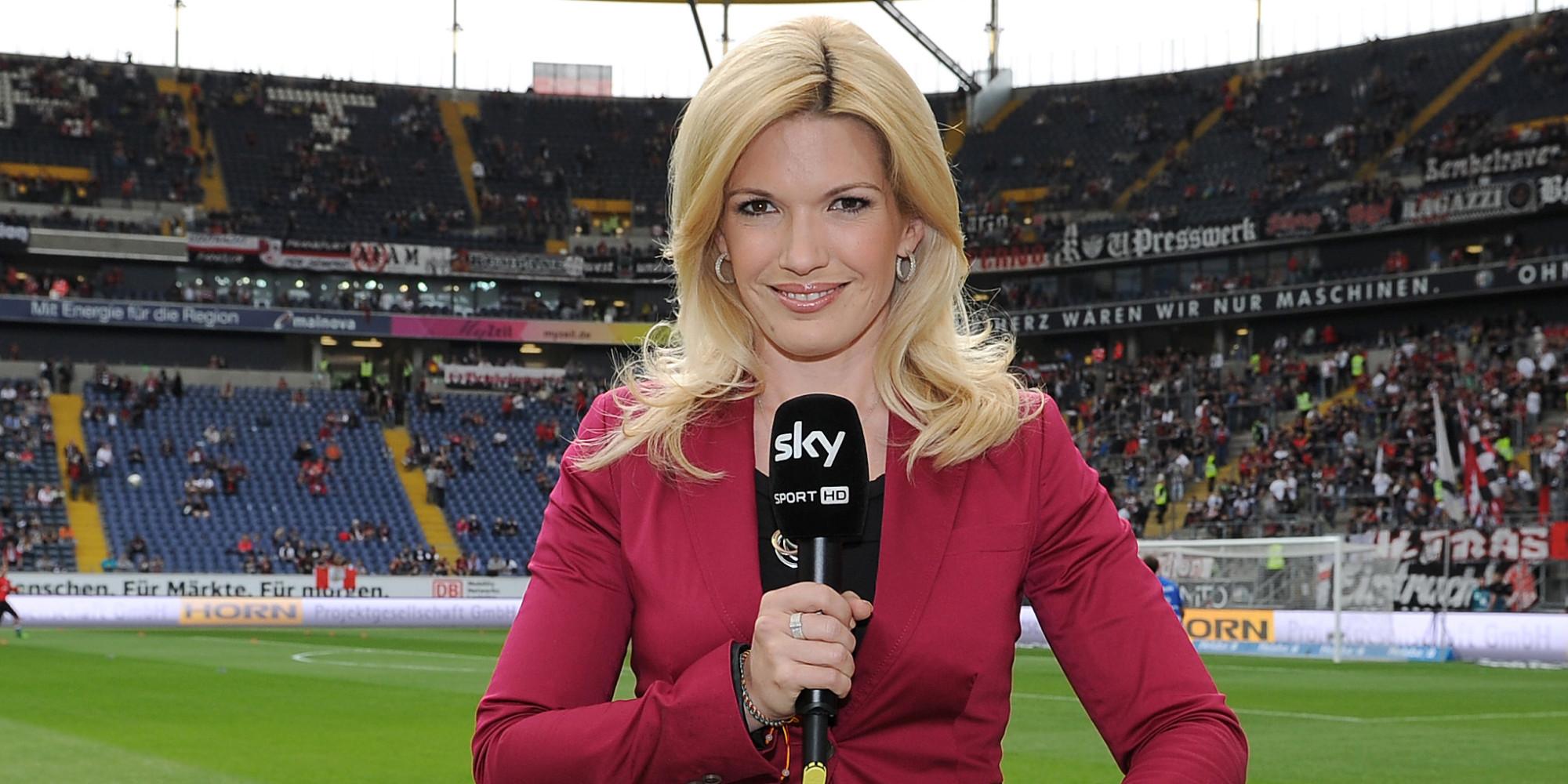 Quot Blond Kickt Gut Quot Jessica Kastrop Sky Moderatorin Packt Aus
