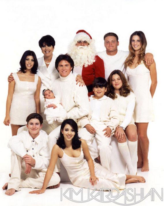 Kardashians 2013 Christmas Card.The 11 Most Absurd Kardashian Christmas Cards Huffpost