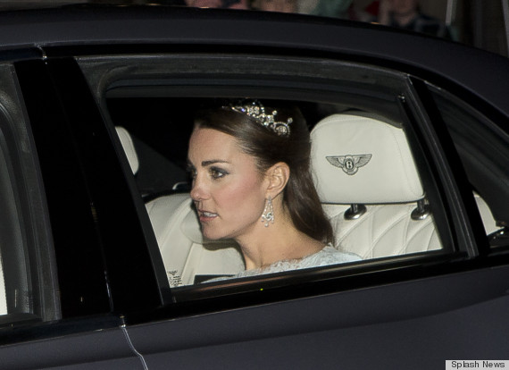 kate in tiara