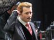 Johnny Depp Goes Blonde On The Set Of 'Mortdecai'