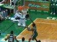Avery Bradley Makes Shot From Behind The Backboard In Celtics-Bucks Game (VIDEO)