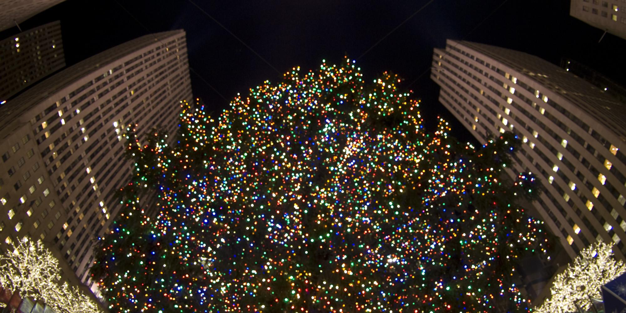 O NEW YORK CHRISTMAS LIGHTS