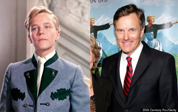 Sound of Music Cast Then and Now