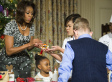 Michelle Obama Unveils White House Christmas Decorations
