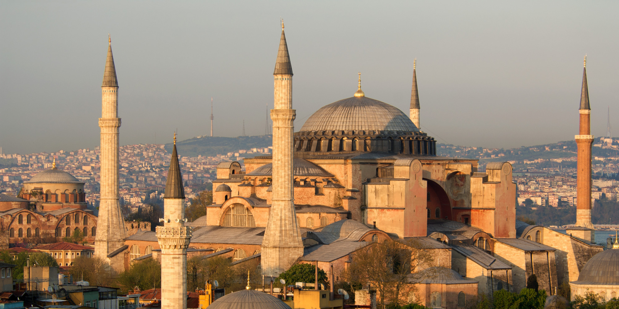 hagia sophia mosque turkish leaders call for conversion