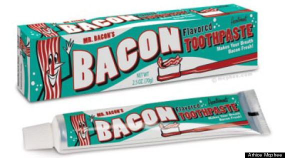bacon toothpaste - Stuff To Get For Christmas