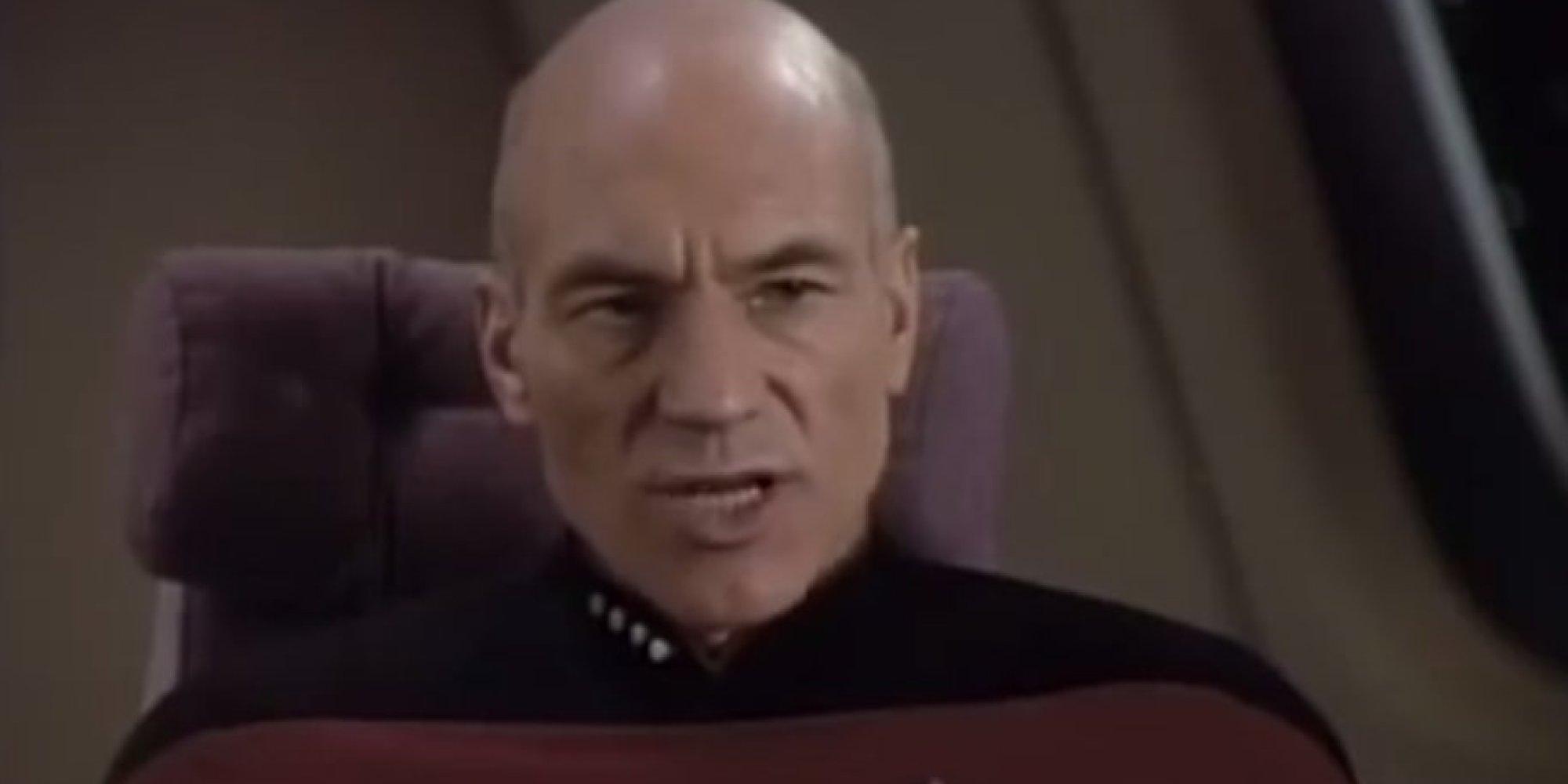 Picard Make it so Let it Snow Picard Sings 'let it Snow