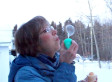 This Couple Blowing Bubbles In The Cold Is An Absolute Overload Of Canadian Cuteness (VIDEO)