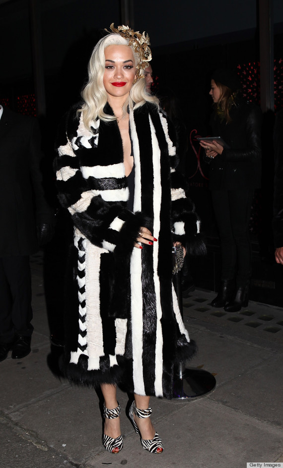 There was no shortage of ugly dresses on this weeks worst dressed rita ora junglespirit Image collections