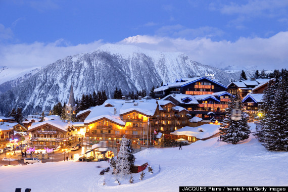 courchevel winter