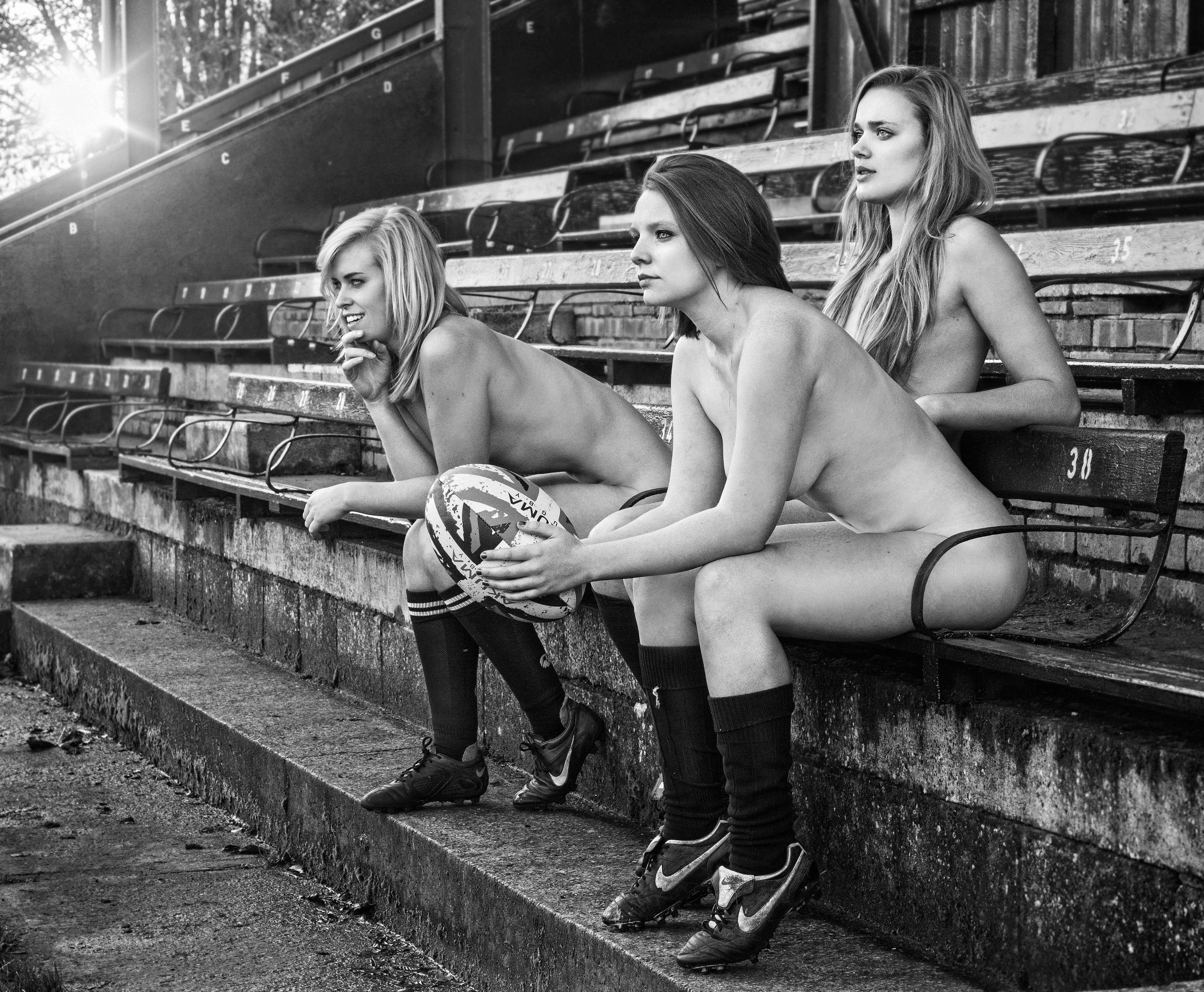 Women of rugby nude