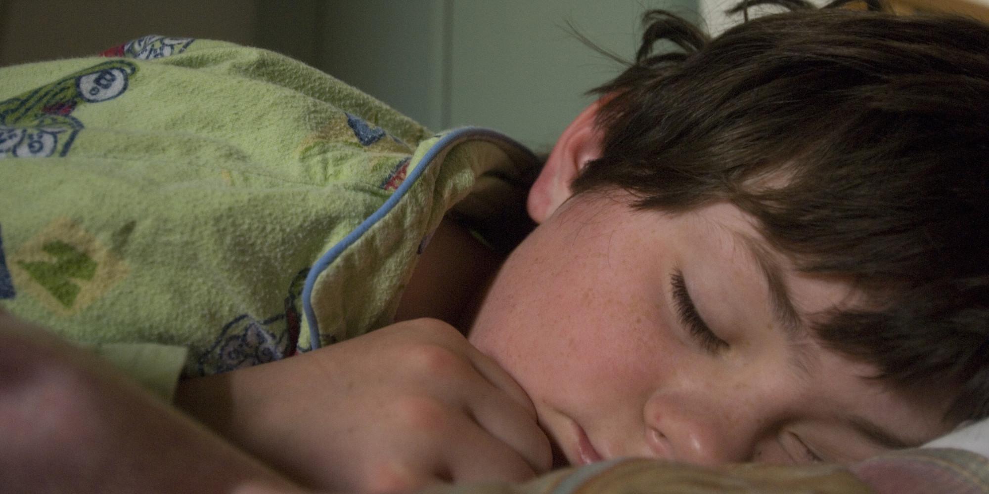 Gay teen nephews sleepover
