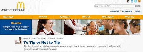 tipping header