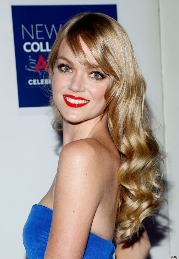 It's All About Red Lip... Rosie Huntington Whiteley Makeup
