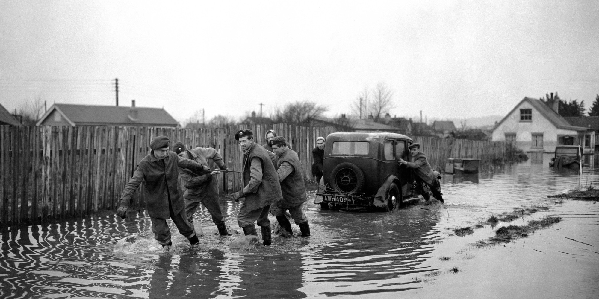 UK Flooding: How The Great Flood Of 1953 Compares To 2013 ...