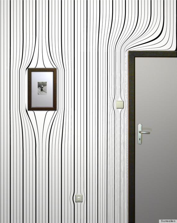 warped wallpaper