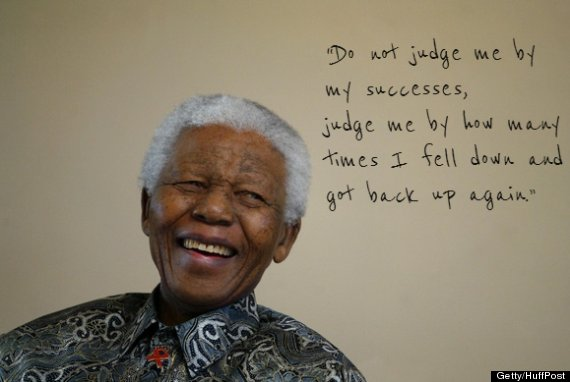 Nelson Mandelas 5 Most Inspiring Quotes PHOTOS