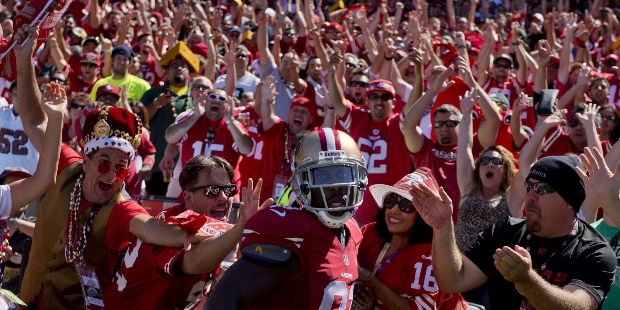 san francisco 49ers issue letter instructing fans how to