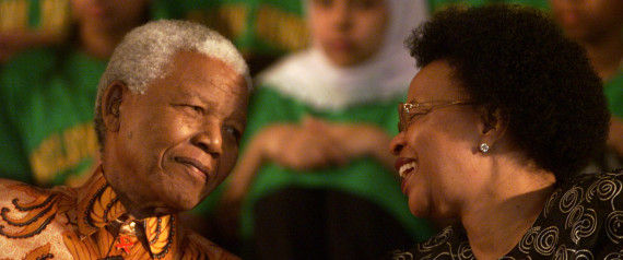 nelson mandela wife graca machel