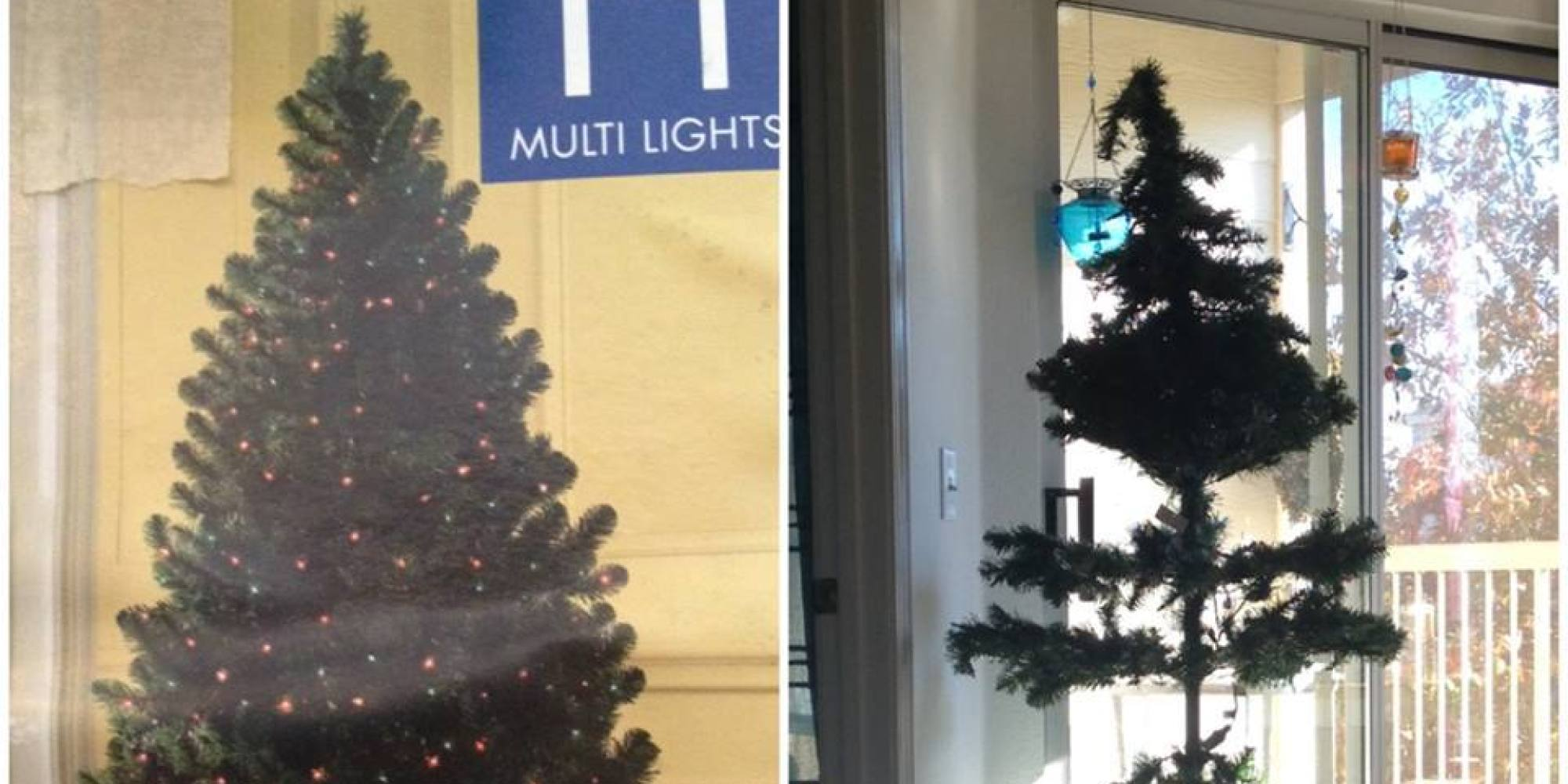 The World's Most Disappointing Christmas Tree (PICTURE