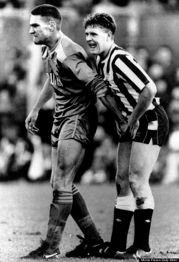 Vinnie Jones couple