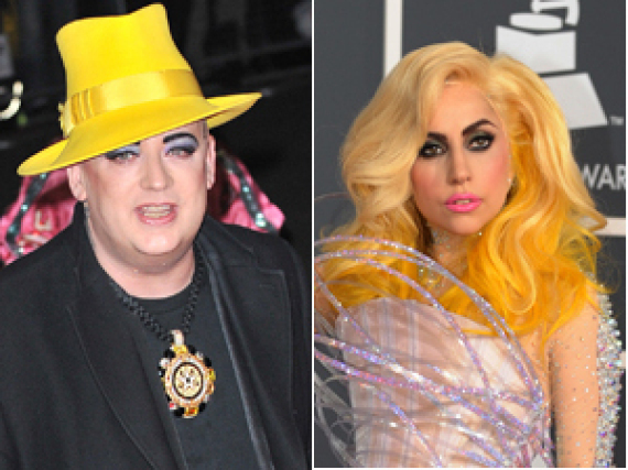 Boy George Gaga