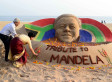The World Remembers Nelson Mandela In Series Of Stunning Tributes (PHOTOS)