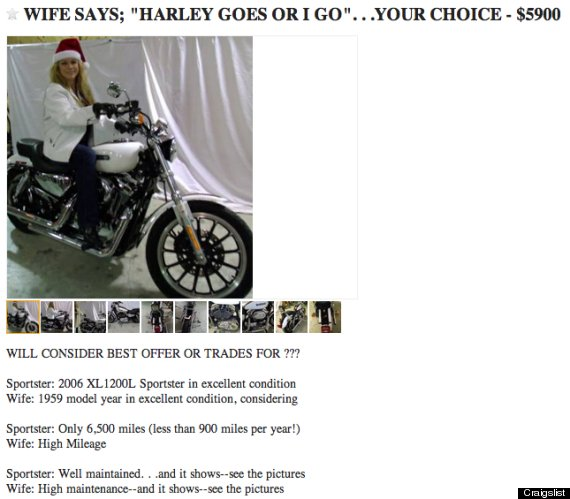 These PostBreakup Craigslist Ads Are The Definition Of Batsht - May best craigslist ad car ever